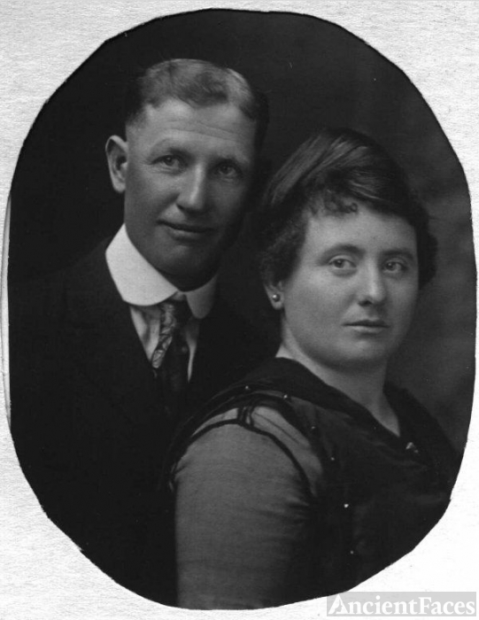John F Cox and Lottie McPherren Cox