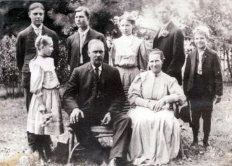 John Fredrick Kriege  and Family