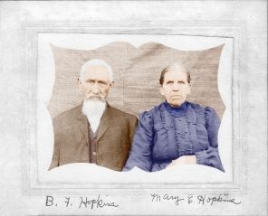 Benjamin Hopkins and Mary Campbell Hopkins