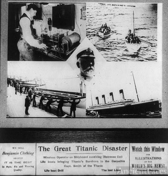 History of the Titanic Disaster