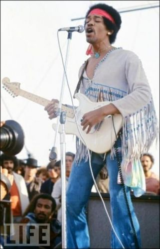 Jimi Hendrix at Woodstock