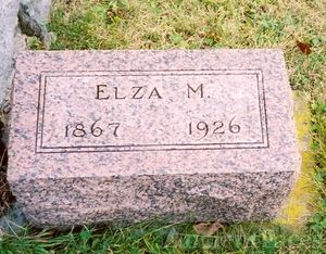 Elza M. Brickley gravestone