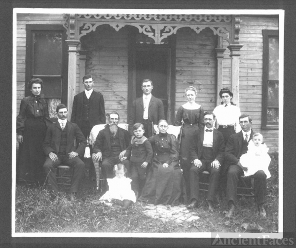 Allen, William, & Rachel Stivers  Family,  Ohio