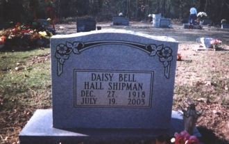 A photo of Daisy Bell Hall Shipman