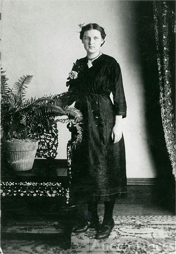 Gertrude Wagner, age 12