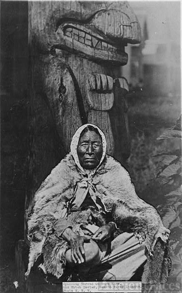 Old Indian witch doctor