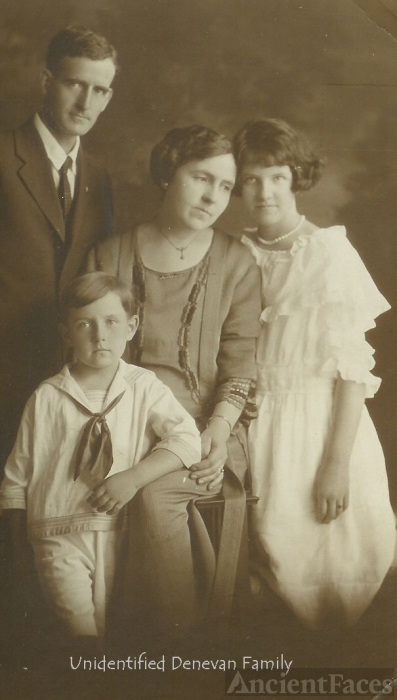 Unidentified Denevan Family