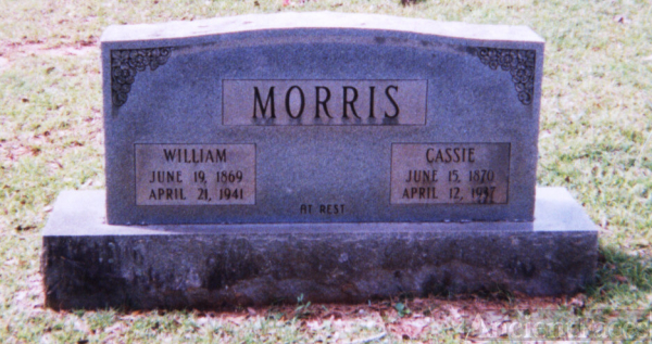 William & Cassie (Worrell) Morris