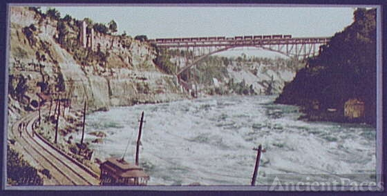 Niagara, Whirlpool Rapids and bridge