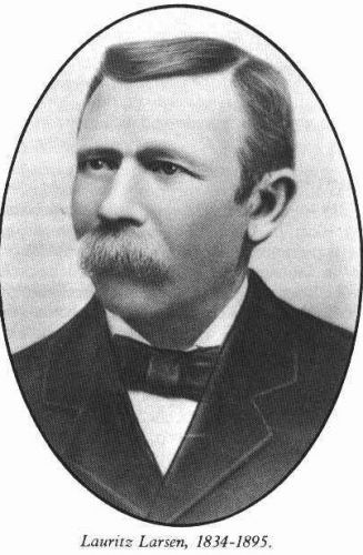 A photo of Lauritz Larsen