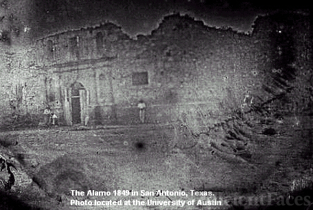 Oldest photo of the Alamo
