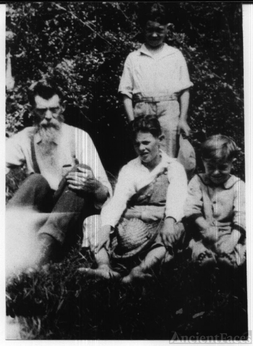 Greatgrandpa G.W. Parrott and grandsons