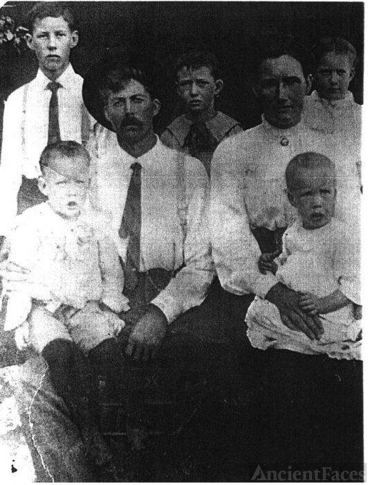 William, Nancy, & Henry Rash Family