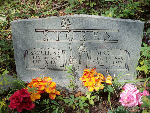 Samuel & Bessie (Hatfield) Stokes Grave, West Virginia