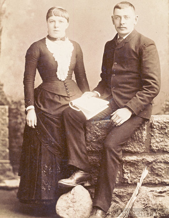 Victor and Mary Harvey
