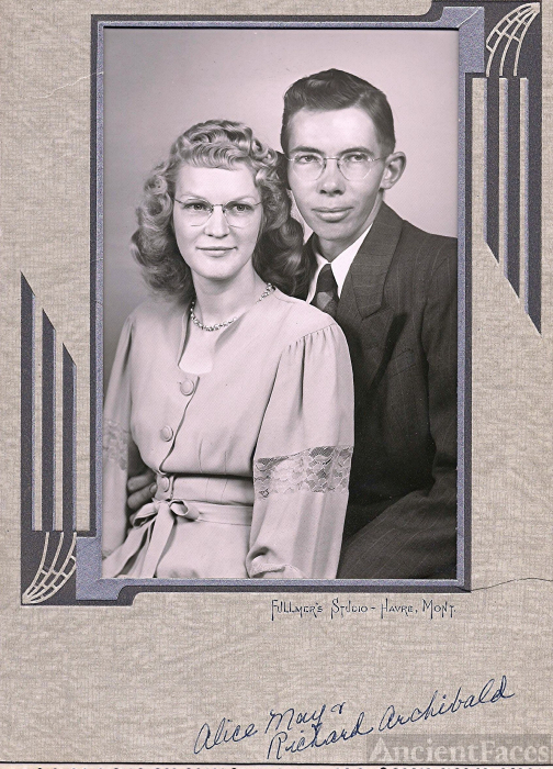 Alice May and Richard Archibald, Montana