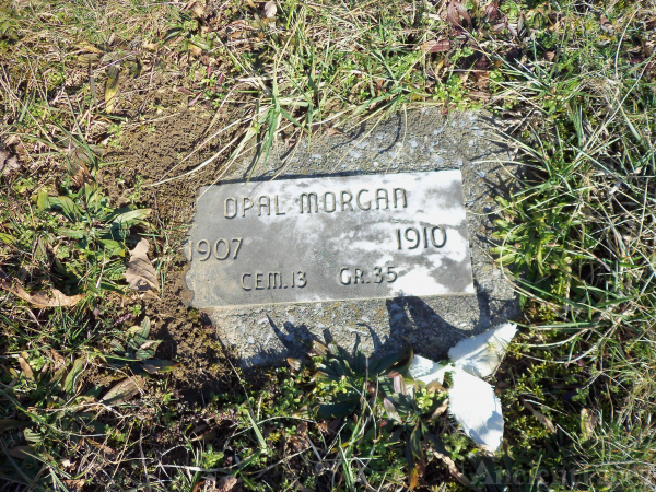 Opal Morgan, WV