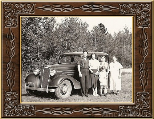 Busch Family & Mary Balogh, MI c1940