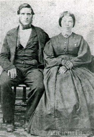 Richard and Margaret Burnop, 1860 Virginia