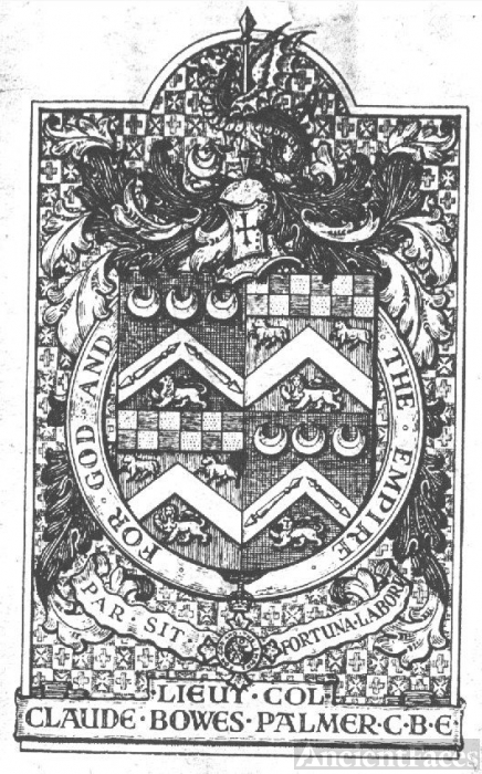 The Palmer Bowes Crest