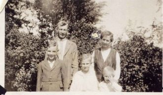 Family of Thomas Marion Lanyon