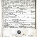 George William Patton death certificate