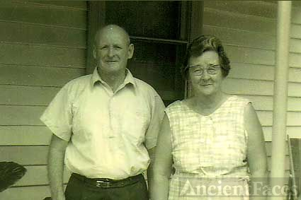 my Dad Fred  and my aunt Nell Mayer