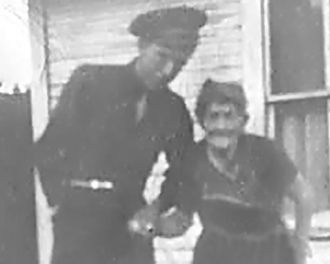 Cloyd Donald Masters and Grandmother Emma Clara Coy