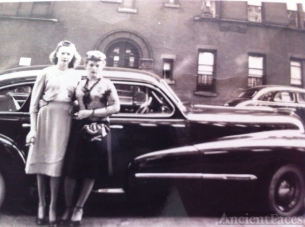 Anna (McCullagh) Gaffney & Friend, New York