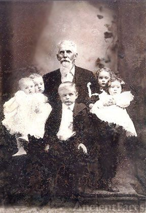 William, Icel, Bertha, & William Q. Atwood, Iowa