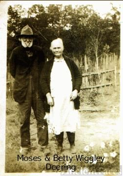 Moses Jackson and Betty Wigley Deering