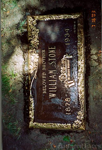 William Stones Headstone