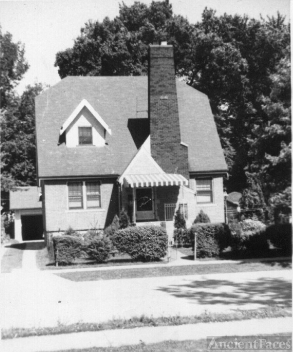 Wesley & Stella Jennings home in Royal Oak Michigan
