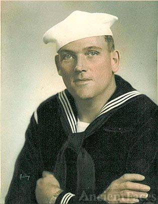Dewey Lindsey in the Navy