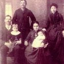 Samuel Rosberry Family and wife Mary D Laframboise