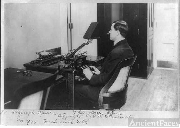 [D.C. Wash. - White House Offices: Telegraph operator at...