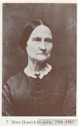 Mary Law Livingston 1806 - 1883