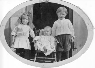 Florence, Ernie, and George Triscik