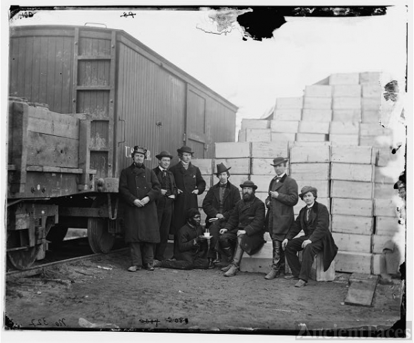 [Aquia Creek Landing, Va. Clerks of the Commissary Depot...