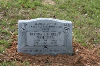A photo of Brenda J. (McKelvy) Wolters