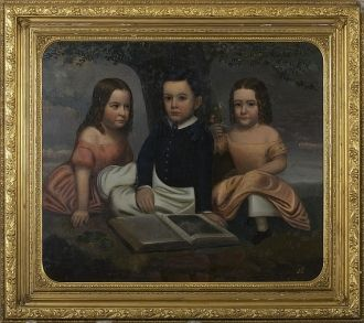 Van Rensselaer Children 1840