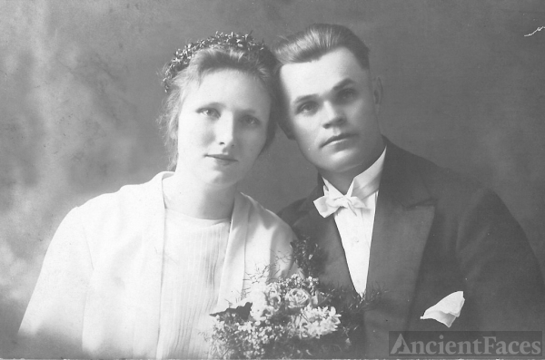 Agnes (Kania) & August Lepiarczyk
