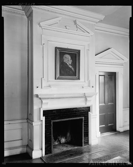 John Wright Stanly House, New Bern, Craven County, North...