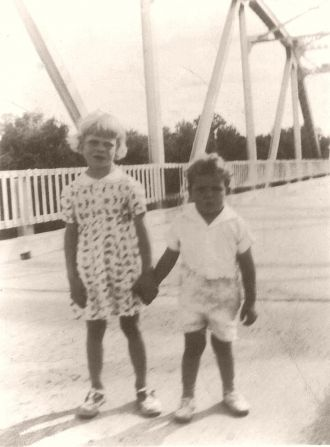 Suwannee River Bridge at Branford, Florida c. 1940