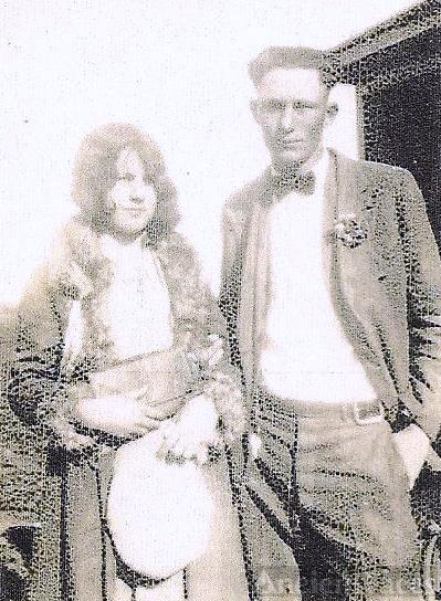 Floyd Marion Angliln & wife Lila