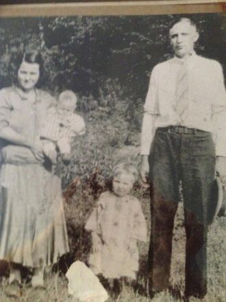 Clara Brown Toler & Dewey Toler Family