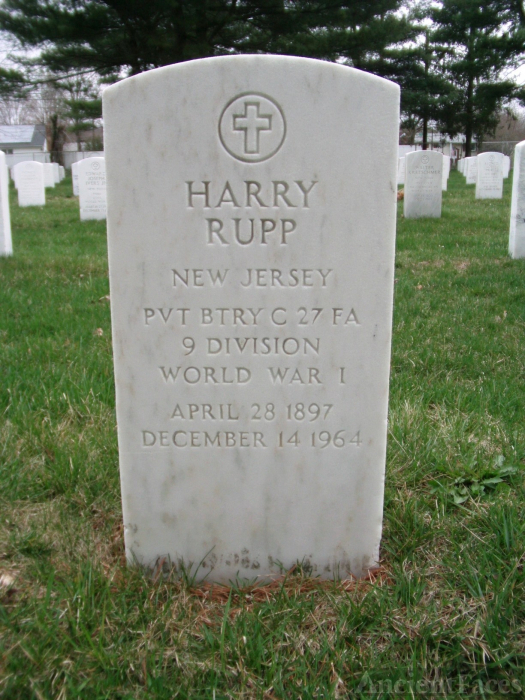 Harry Rupp gravesite