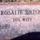 Tombstone of Rosalie Drisba