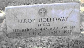 A photo of Leroy  Holloway