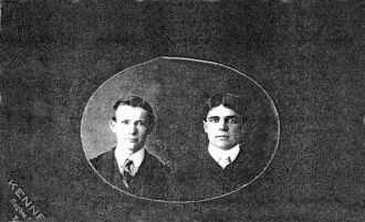 T.E. Lilley and Unknown Donnely